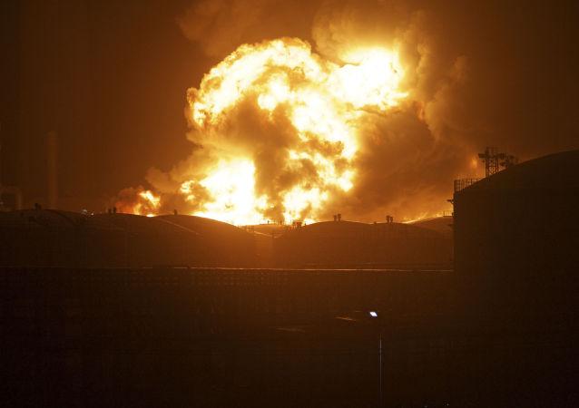 浙江一家美容Spa養生館因蒸汽浴室人為操作錯誤而發生火災,造成18人死亡