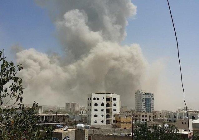 俄羅斯駐也門大使館旁週五凌晨發生爆炸