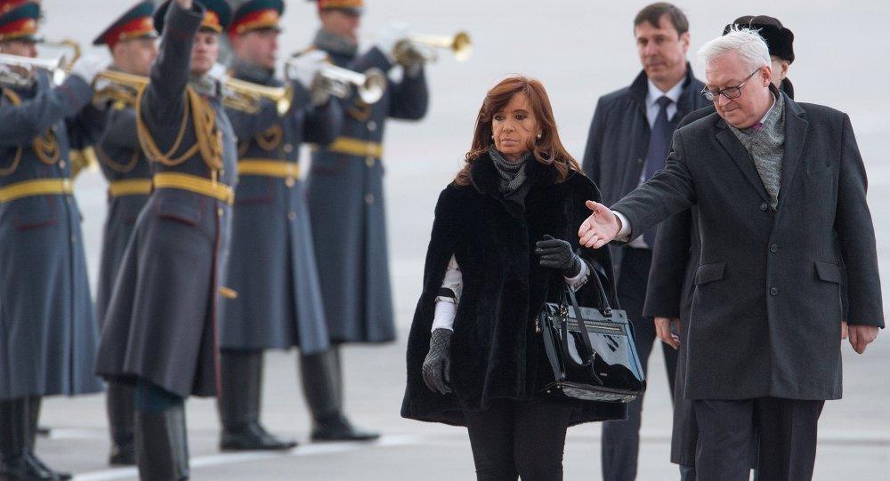 阿根廷總統克里斯蒂娜∙費爾南德斯∙基什內爾