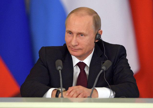 普京:歐亞經濟共同體和南共市將簽署合作備忘錄