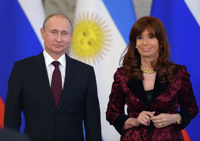 普京:俄羅斯與阿根廷將就本幣結算進行磋商