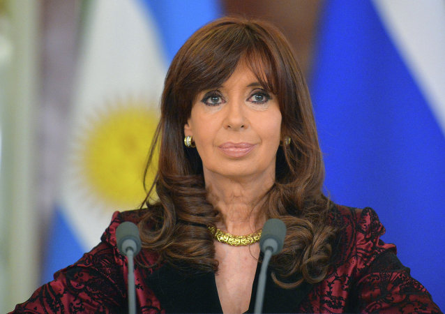 阿根廷總統克里斯蒂娜•費爾南德斯•德基什內爾