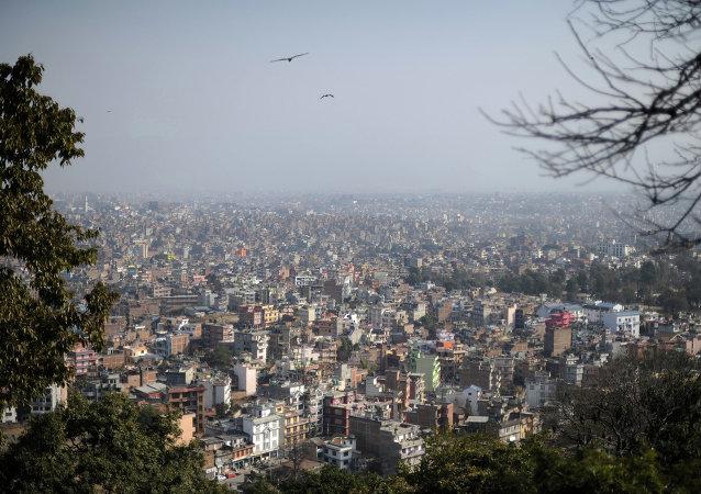 尼泊爾首都加德滿都