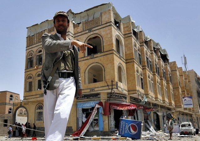 伊朗就沙特阿拉伯禁止向也門運送人道主義救援物資抗議