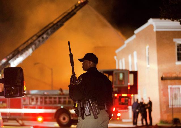 美巴爾的摩爆發騷亂 國民警衛隊進入戰備狀態