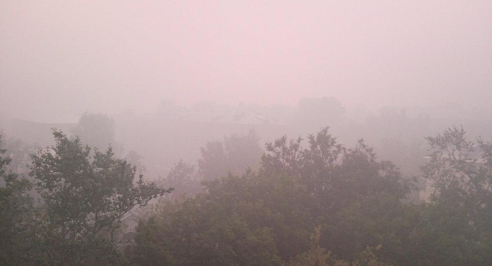 中國火災帶來大量煙霧 布拉戈維申斯克建議居民盡量避免出門