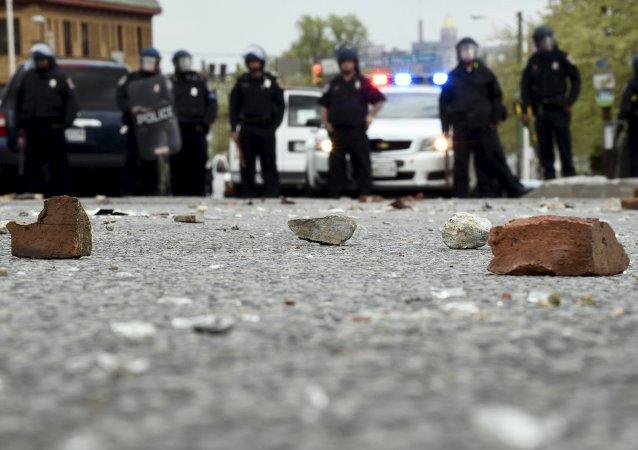 美國北達科他州輸油管道施工方與當地居民發生衝突