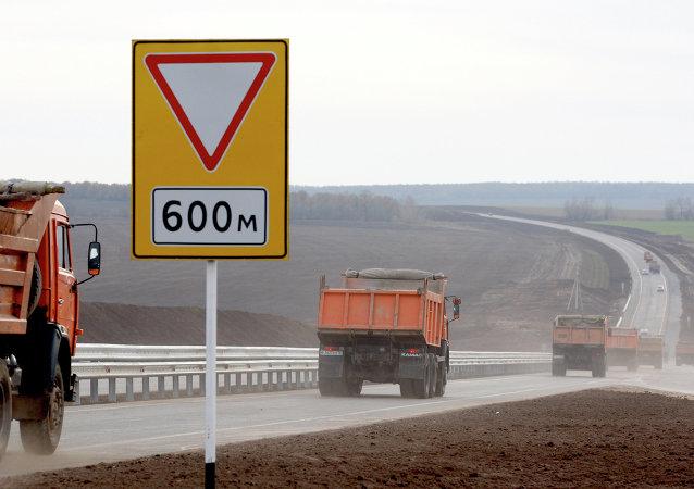 歐洲至中國西部公路段
