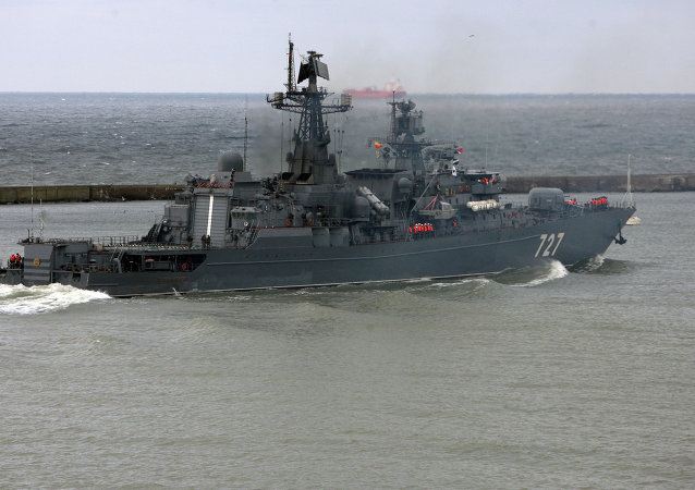 俄中海軍演習聯合指揮部已設在新羅西斯克基地