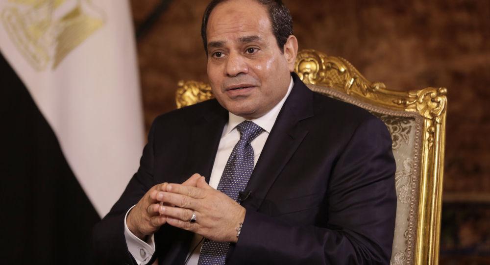 埃及總統阿卜杜勒-法塔赫•塞西