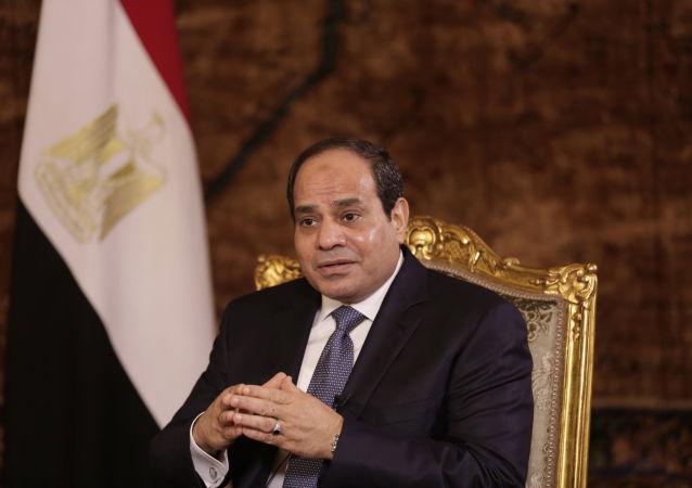 埃及總統阿卜杜勒·法塔赫·塞西