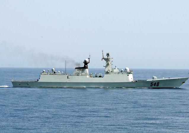 媒體:中國人民解放軍海軍船隻駛經美國海域