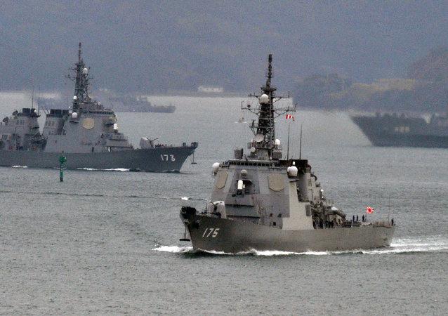 日本自衛隊艦艇