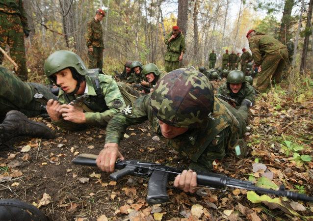 俄羅斯和巴基斯坦特種兵在演習中清剿「城內恐怖分子」