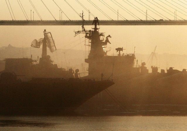 俄濱海邊疆區受到來自蒙古和中國的沙塵暴侵襲
