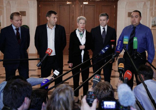 歐安組織:頓巴斯問題工作組分組在明斯克奠定談判基礎