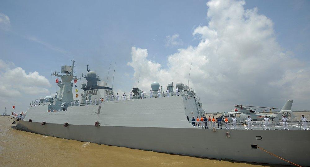 導彈護衛艦'濰坊艦'