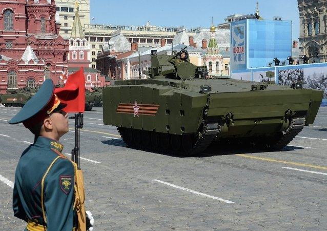 勝利日閱兵式最後彩排將於5月7日在紅場舉行