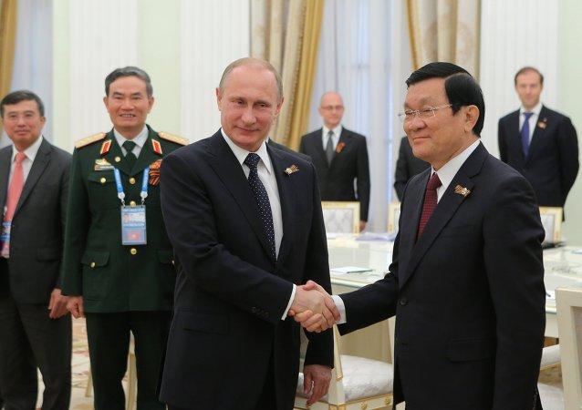 張晉創:越俄關係是越南對外政策的優先方向之一