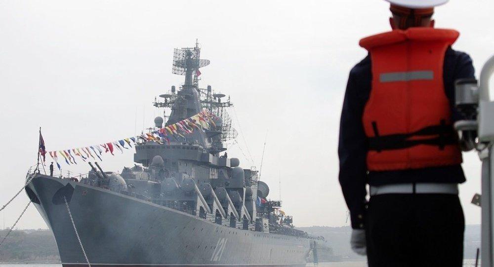 俄黑海艦隊監控海上微風軍演北約參演軍艦