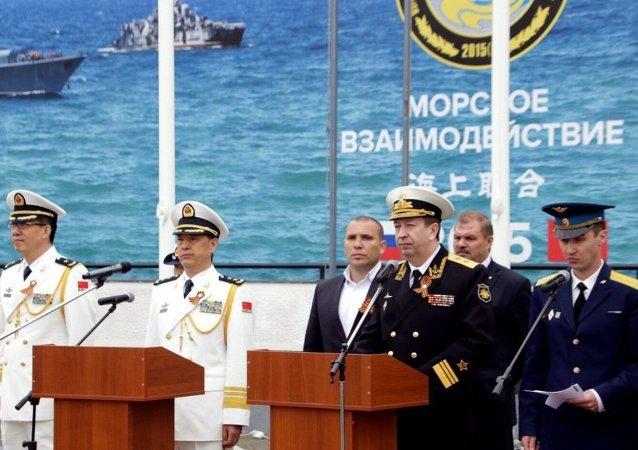 俄中將於9月12日起在南海舉行軍演