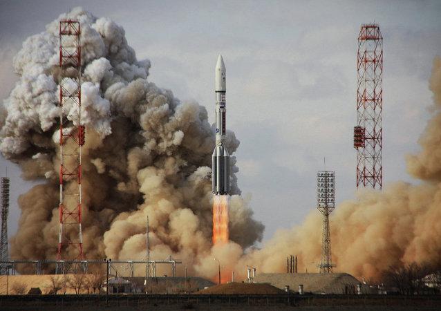 俄航天署對質子M號運載火箭發射故障展開調查