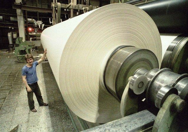 俄行政長官:阿馬扎爾斯克紙漿造紙廠擬於2019年投產