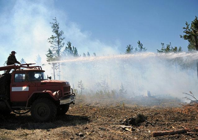 森林火災 (俄羅斯外貝加爾邊疆區)