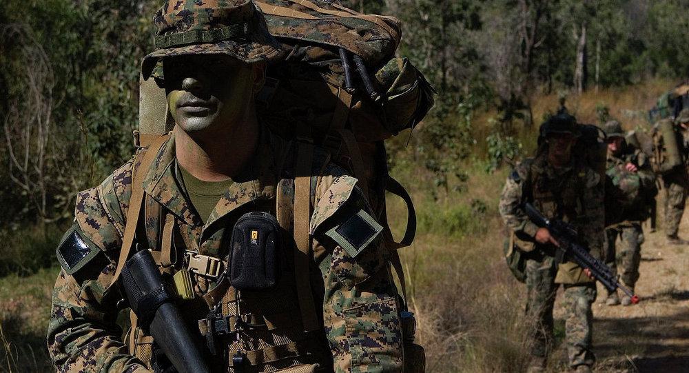 「護身軍刀」 聯合軍事演習