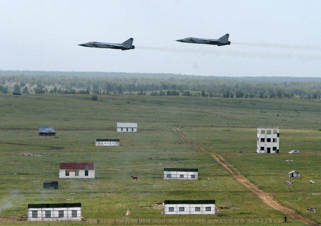 俄羅斯空天部隊參加演習