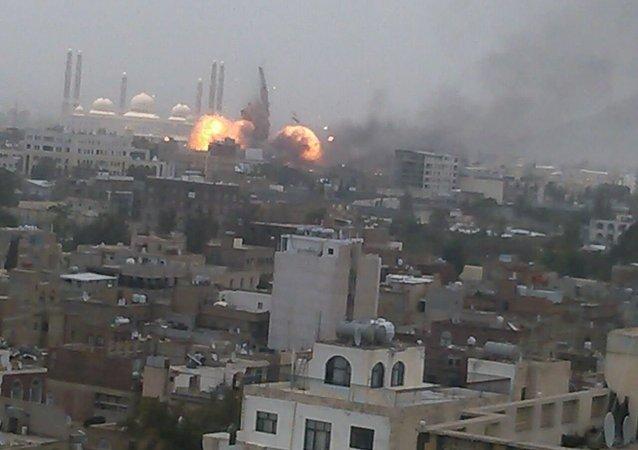 電視台:也門遭受導彈襲擊後發現100余具外國士兵屍體