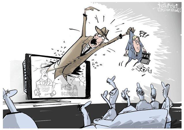 國際足聯的貪腐醜聞和德國的間諜醜聞
