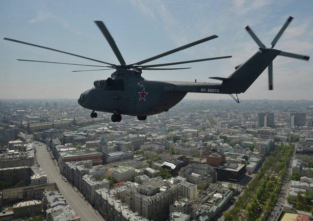 【改稿】俄 Technodinamika:願參與俄中重型直升機建造項目