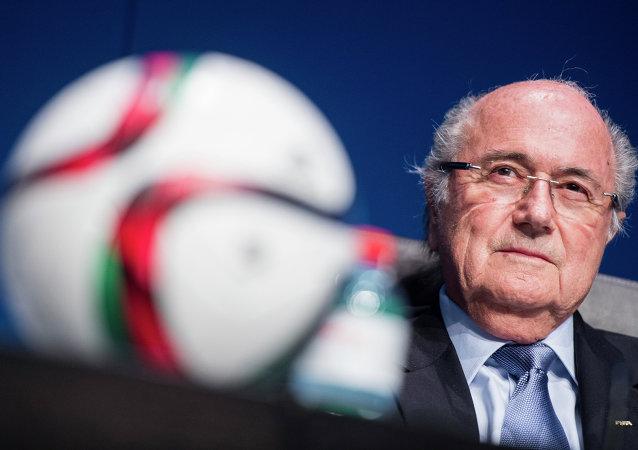 約瑟夫·布拉特再次當選任期四年的國際足聯主席
