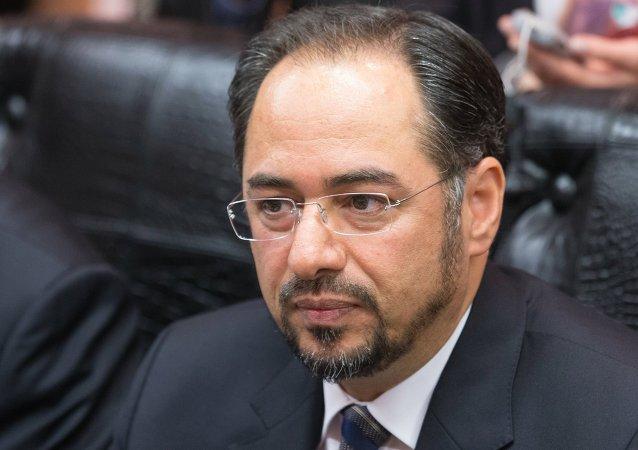 阿富汗外長薩拉赫丁∙拉巴尼