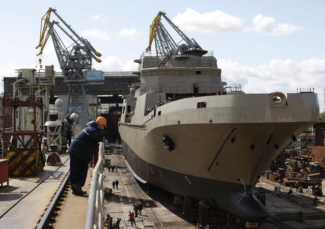 俄聯合造船公司擬與外國夥伴共建造船合資企業