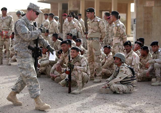 「伊斯蘭國」武裝分子向駐伊美軍基地發射了兩枚火箭彈