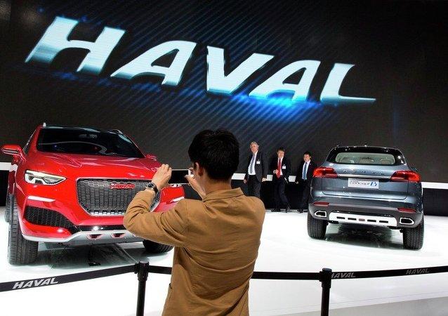 中國品牌汽車擴大在俄市場佔有率