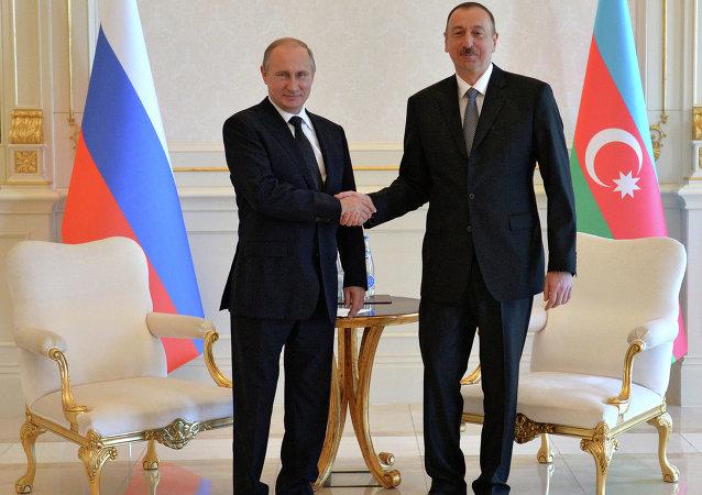 普京:俄羅斯希望與阿塞拜疆企業家擴大合作