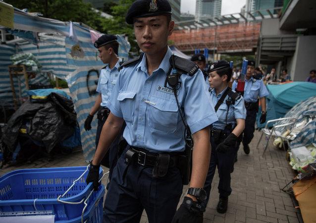 香港警方:7名男子涉嫌串謀行劫等被捕