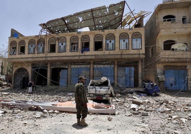 也門爆炸 資料圖