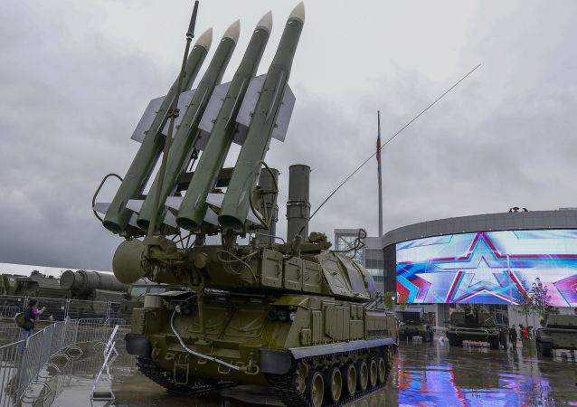 「山毛櫸」中程防空導彈系統