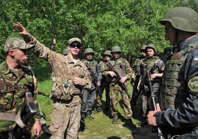 五角大樓:約350名美國軍人將對六個烏克蘭兵營進行訓練