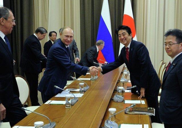 中國專家:俄日領導人會晤對改善雙邊關係有正面作用