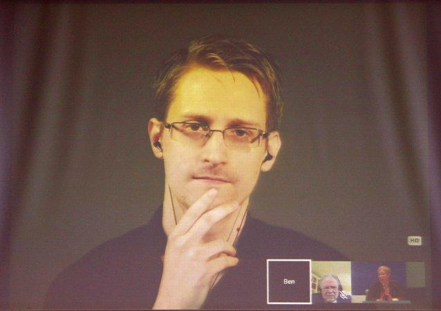 美國國家安全局(NSA)前特工愛德華·斯諾登
