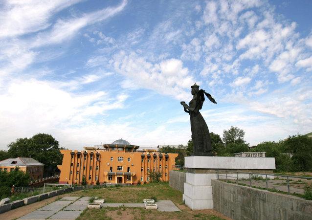 俄羅斯布里亞特共和國首府烏蘭烏德