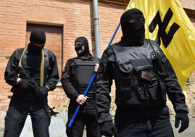 「右邊界」組織(極端主義組織,在俄羅斯被禁)
