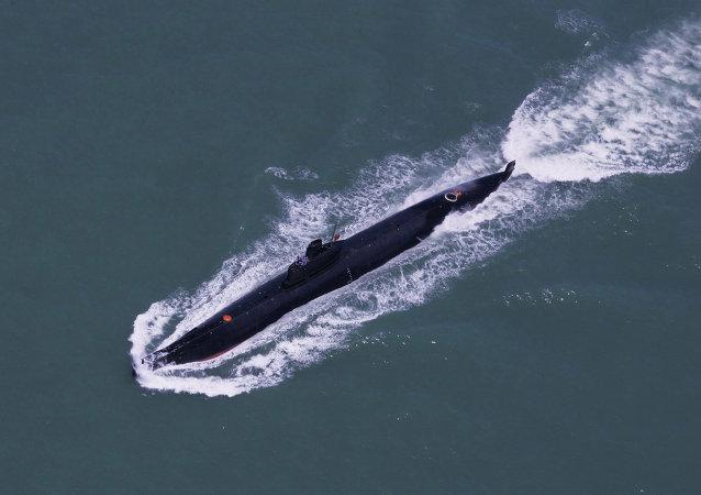 媒體:美國擔憂中國將在潛水艇數量上佔優勢