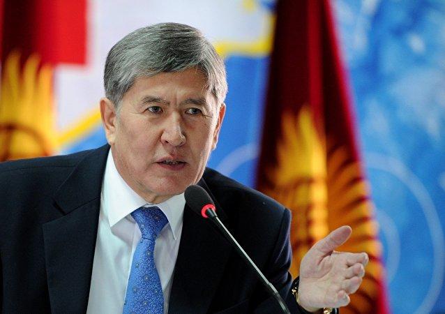 吉爾吉斯斯坦總統阿坦巴耶夫