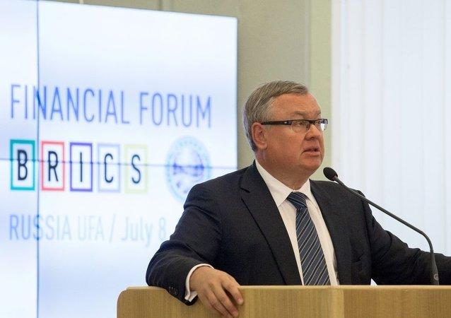 俄羅斯外貿銀行行長安德烈·科斯京
